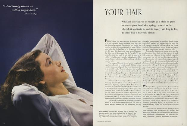 Article Preview: Your Hair, November 1 1940 | Vogue