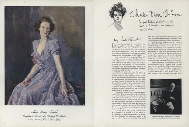Article Preview: Charles Dana Gibson, November 1 1940 | Vogue