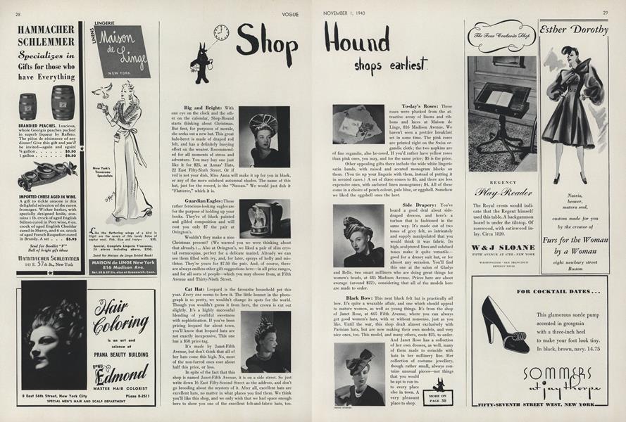 Shop Hound Shops Earliest