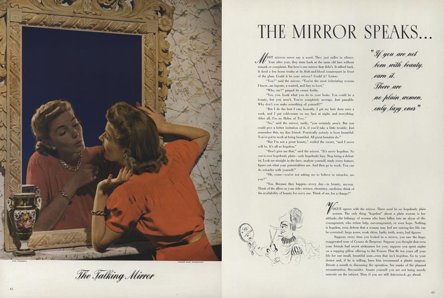 The Mirror Speaks