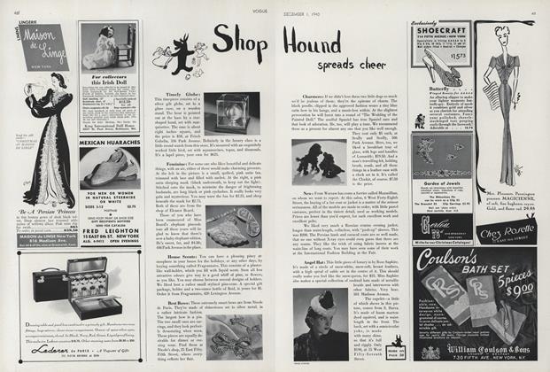 Shop Hound Spreads Cheer