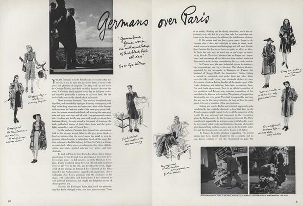 Germans Over Paris