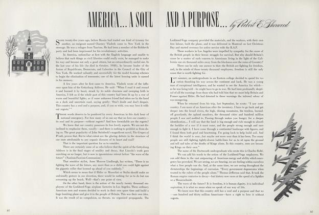 America...a Soul and a Purpose...