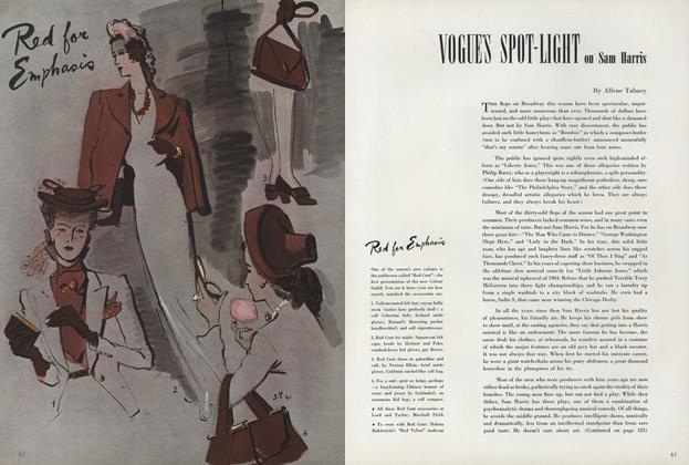 Vogue's Spot-Light on Sam Harris