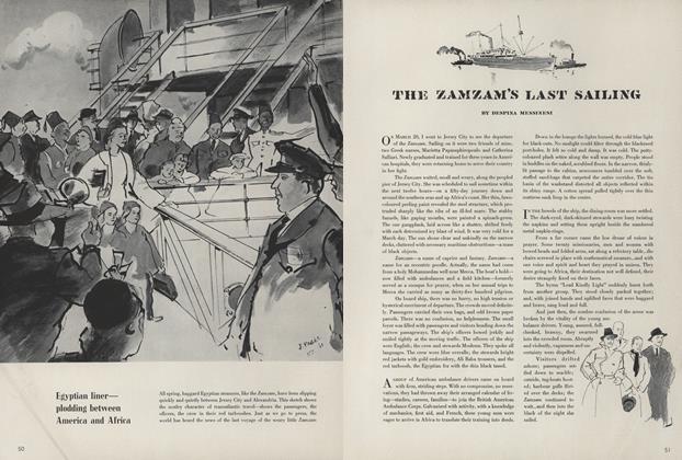The Zamzam's Last Sailing