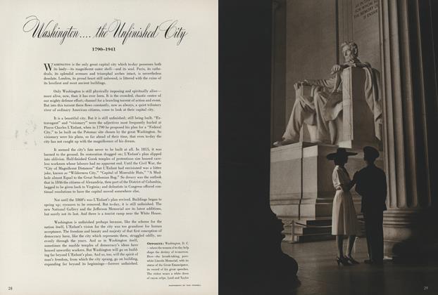 Washington...the Unfinished City: 1790-1941
