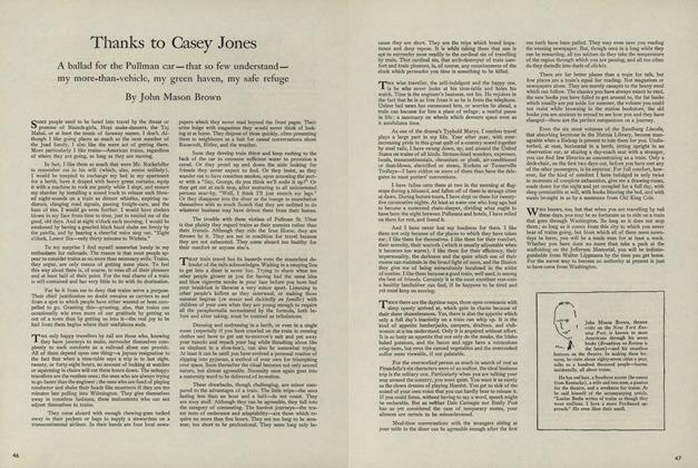 Thanks to Casey Jones