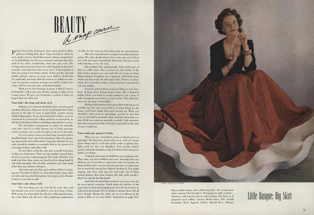 Beauty: A Snap Course