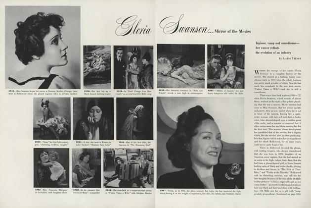 Gloria Swanson...Mirror of the Movies