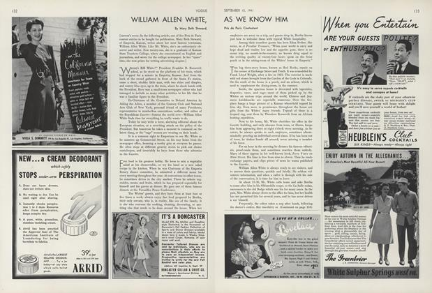William Allen White, As We Know Him
