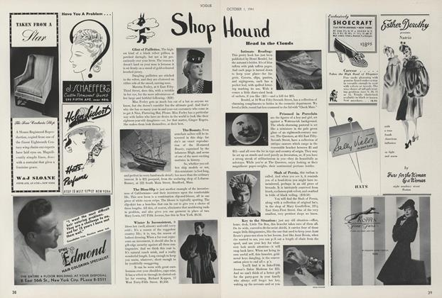 Shop Hound: Head in the Clouds