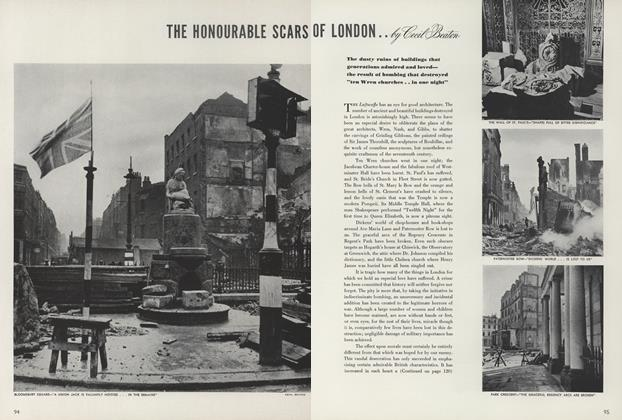 The Honourable Scars of London