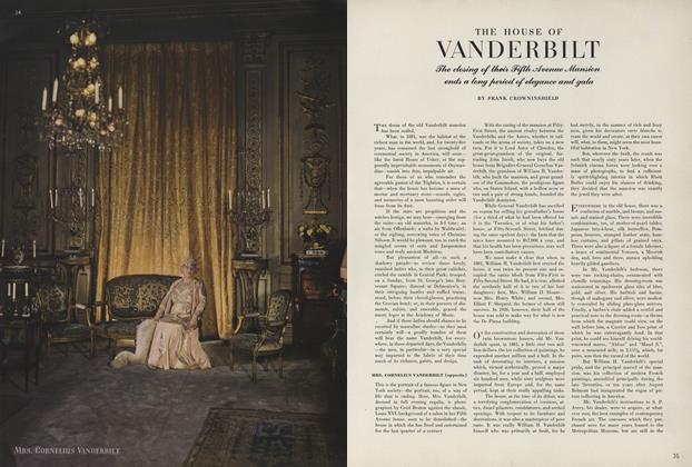 The House of Vanderbilt