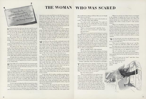 The Woman Who Was Scared