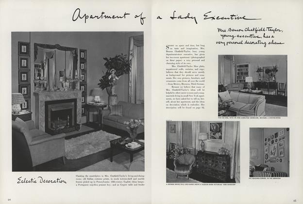 Apartment of Lady Executive