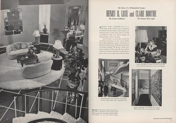 The House of a Distinguished Couple: Henry R. Luce and Clare Boothe