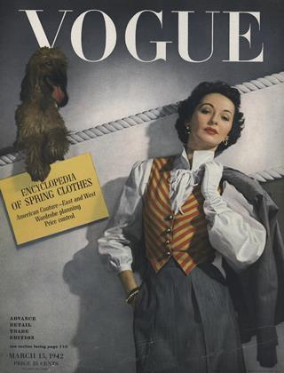 Cover for the March 15 1942 issue