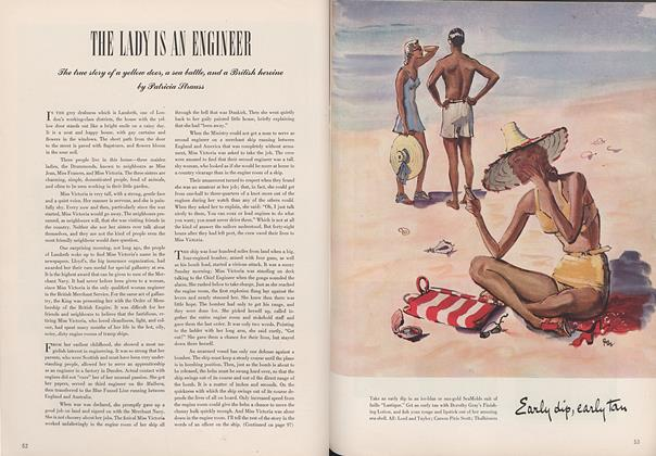 Article Preview: The Lady is an Engineer, May 15 1942 | Vogue