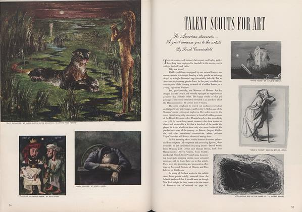 Article Preview: Talent Scouts for Art, May 15 1942 | Vogue