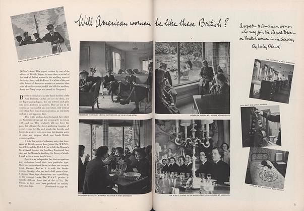 Article Preview: Will American Women Be Like These British?, May 15 1942 | Vogue