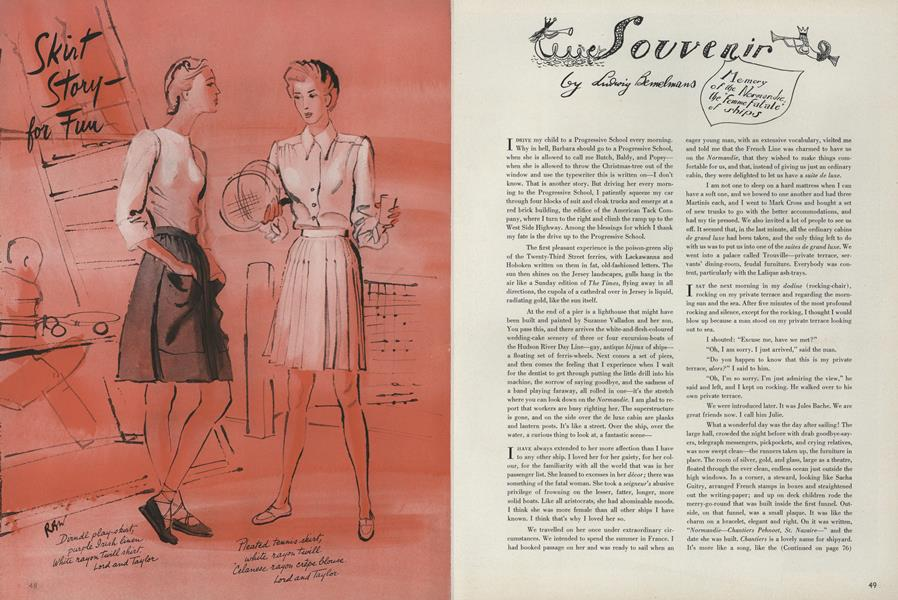 """Souvenir: Memory of the Normandie, the """"Femme Fatale"""" of Ships"""