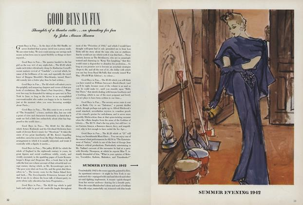 Article Preview: Good Buys In Fun, June 15 1942 | Vogue