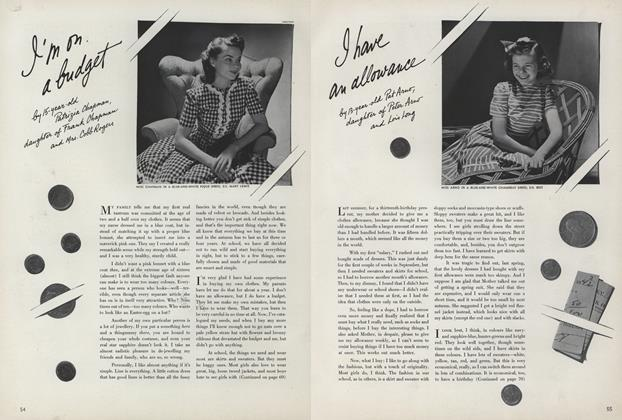 Article Preview: I'm On a Budget, June 15 1942 | Vogue
