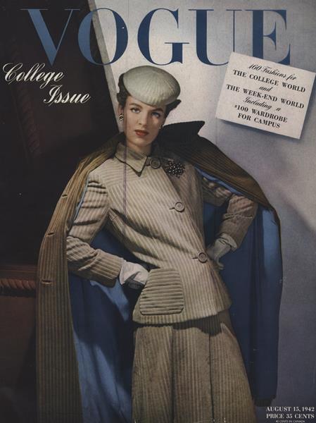 Issue: - August 15 1942 | Vogue