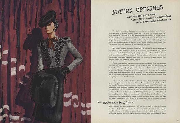Autumn Openings