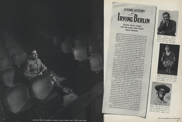 A Song History of Irving Berlin