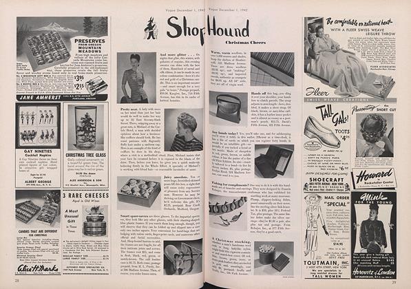 Shop Hound: Christmas Cheers