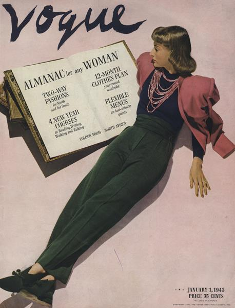 Issue: - January 1 1943   Vogue