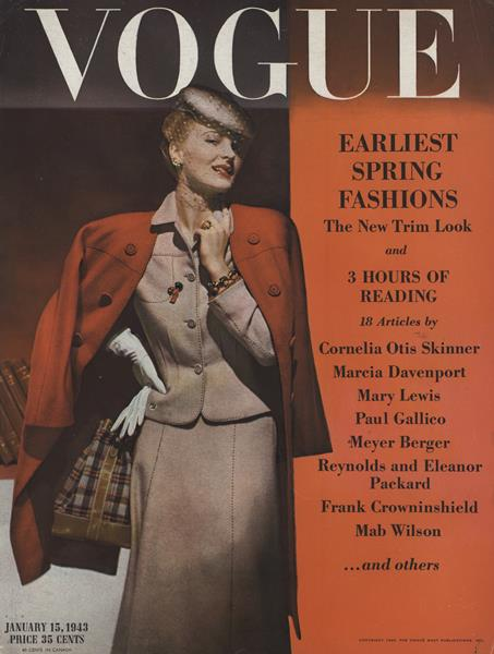 Issue: - January 15 1943 | Vogue
