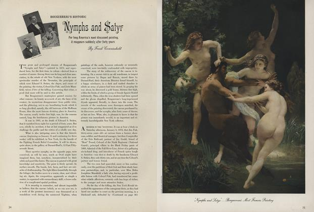 Bouguereau's Historic Nymphs and Satyrs