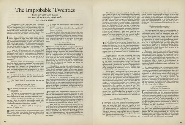 The Improbable 'Twenties