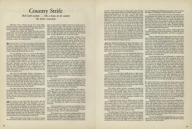 Country Strife
