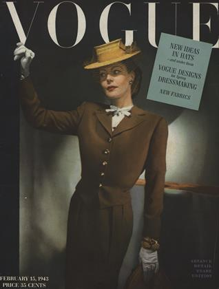 Cover for the February 15 1943 issue