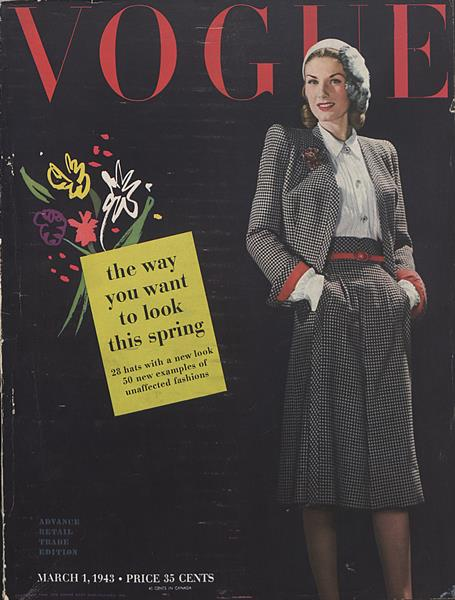 Issue: - March 1 1943 | Vogue