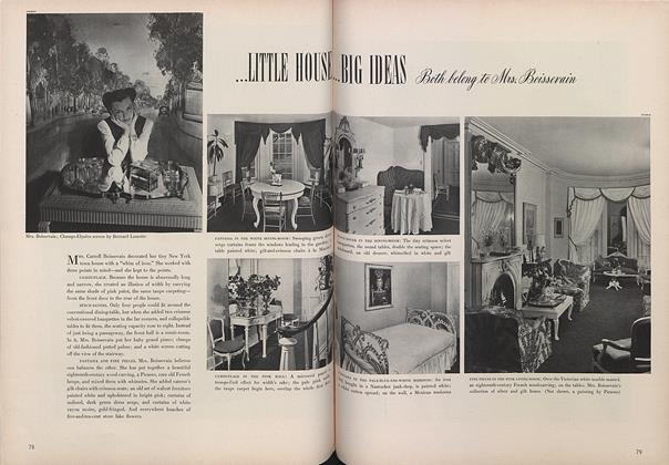Little House...Big Ideas: Both Belong to Mrs. Boissevain