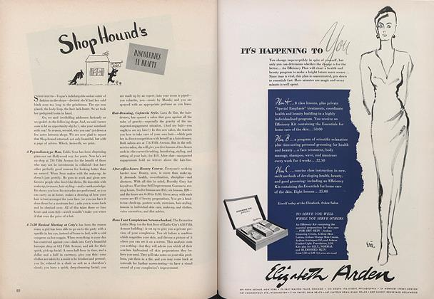 Article Preview: Shop Hound's Discoveries in Beauty, March 15 1943 | Vogue