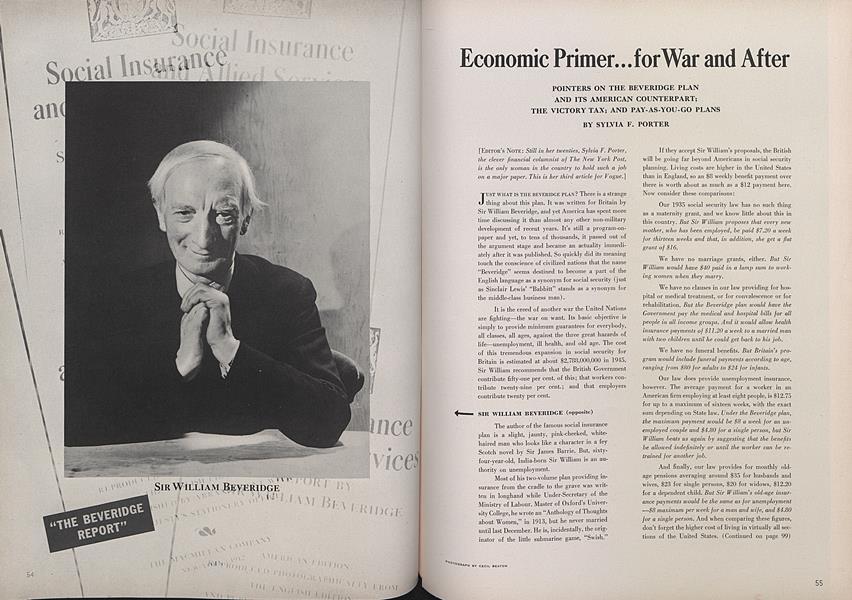 Economic Primer... for War and After