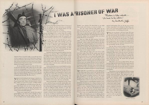 I Was a Prisoner of War