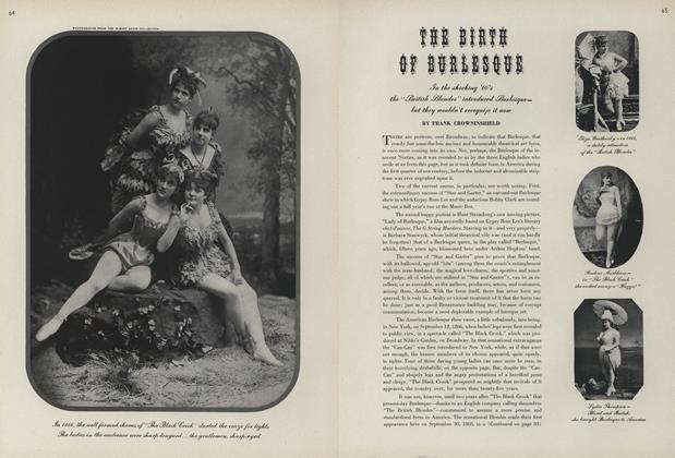 The Birth of Burlesque