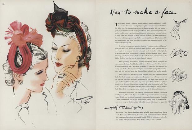 How to Make a Face/Half a Turban