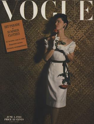 Cover for the June 1 1943 issue