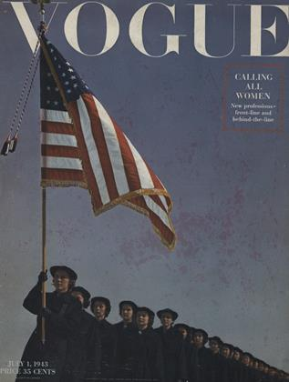 Cover for the July 1 1943 issue