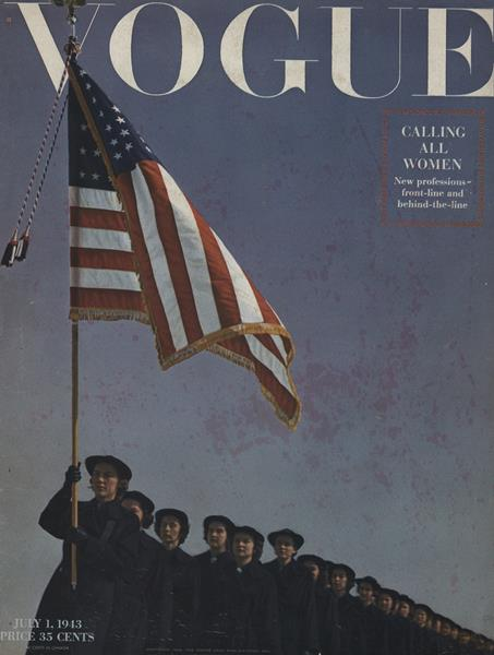 Issue: - July 1 1943   Vogue