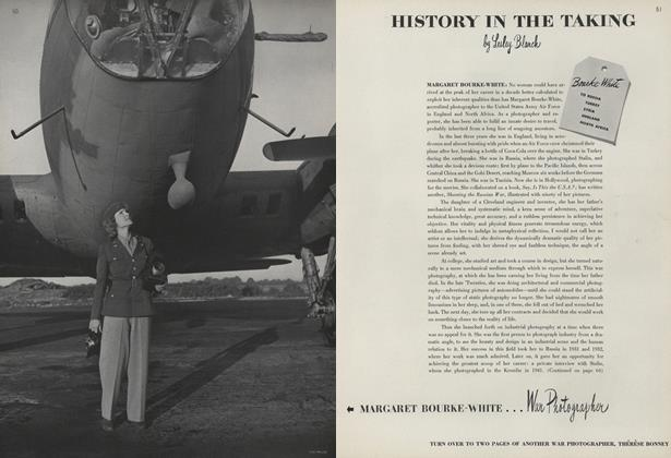 History in the Taking: Margaret Bourke-White, Therese Bonney