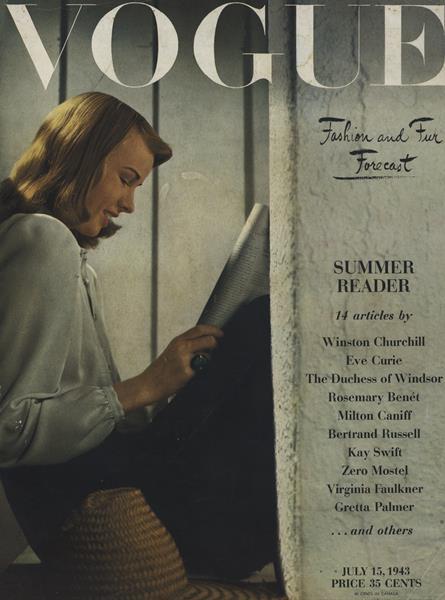 Issue: - July 15 1943 | Vogue