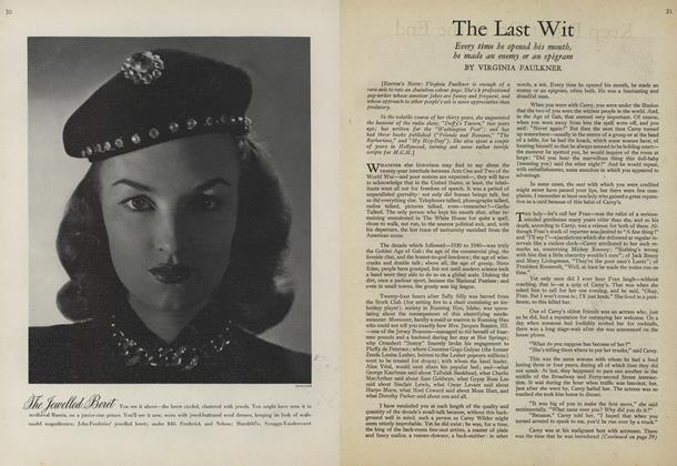Article Preview: The Last Wit, July 15 1943 | Vogue